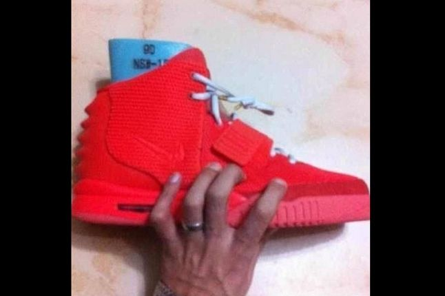 Air Yeezy 2 Red Hand 1