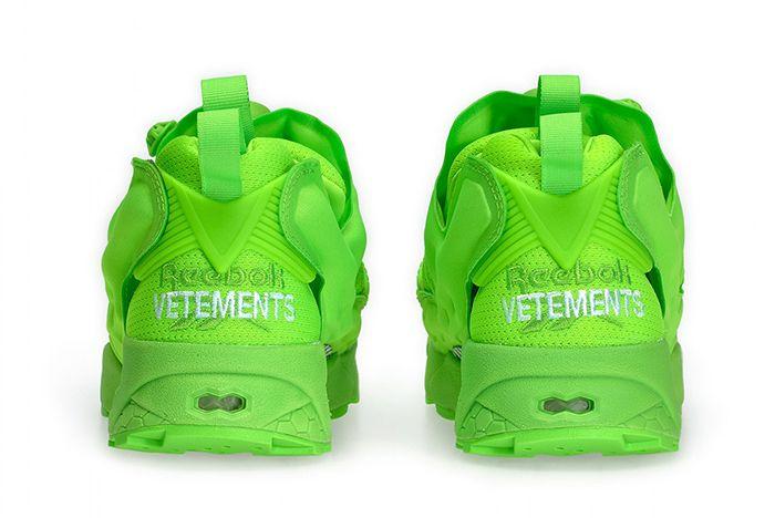 Vetement Reebok Neon Pump Green 1