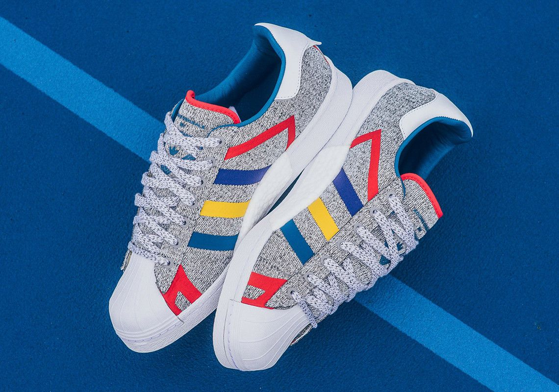 White Mountainerring Adidas Superstar Boost Available Now 8