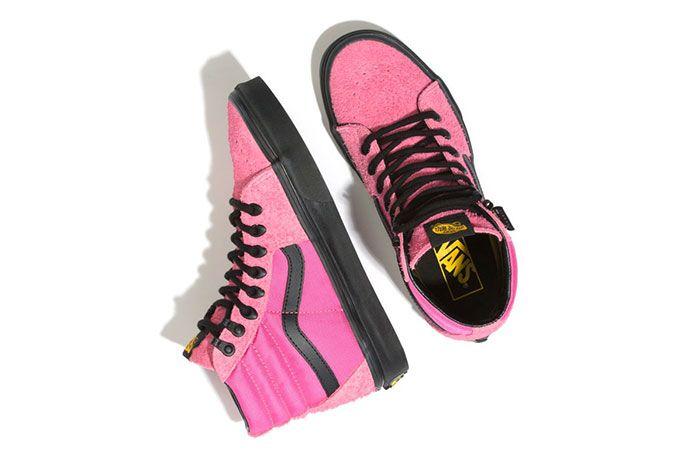 Vans Sk8 Hi Cordura Pink Top