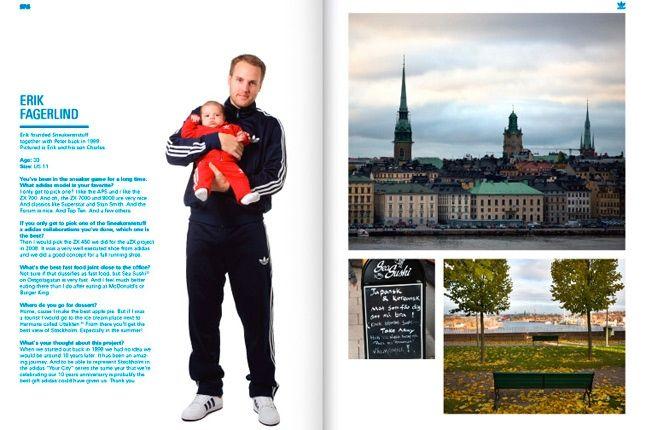 Sneakersnstuff Adidas Book Erik Fagerlind 1