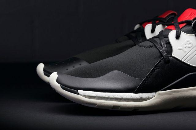 Adidas Y 3 Qr Boost Blackred2