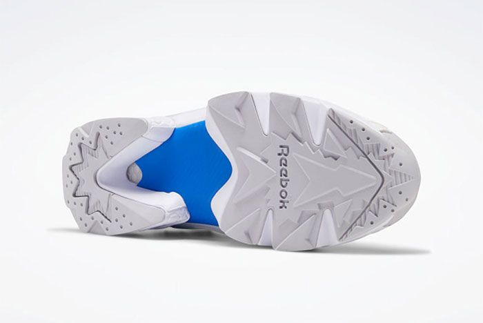 Reebok Instapump Fury Blue Red Sole