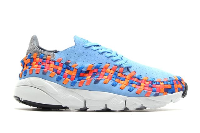Footscape Woven Chukka Motion Sideview
