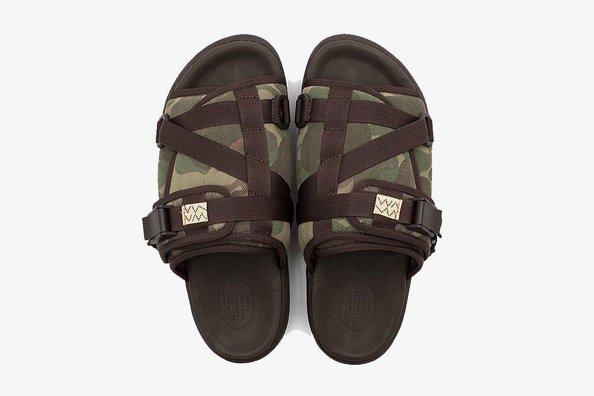 Visvim Christo Sandal Camo Top