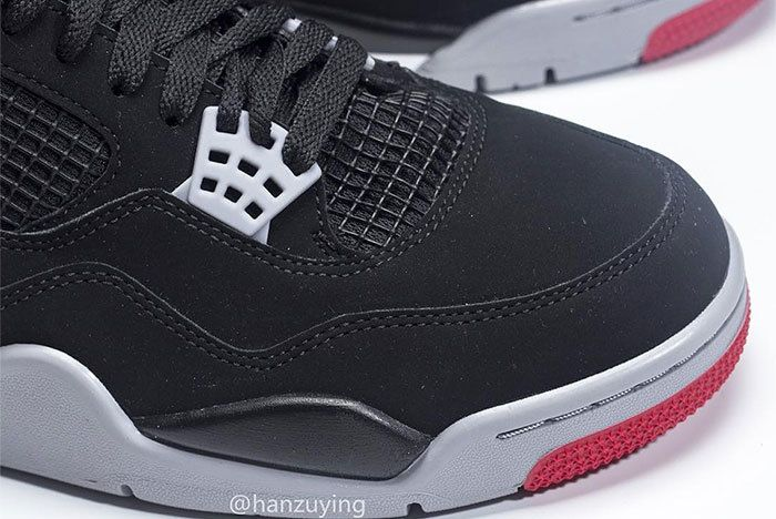 Air Jordan 4 Bred Black Red 2019 308497 060 1