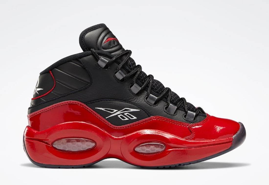 Reebok Question Mid Black Red G57551