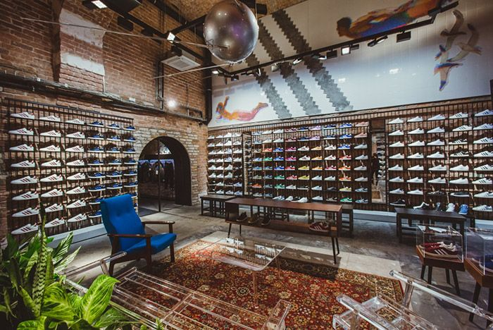 Adidas Open First Store In Russia 1