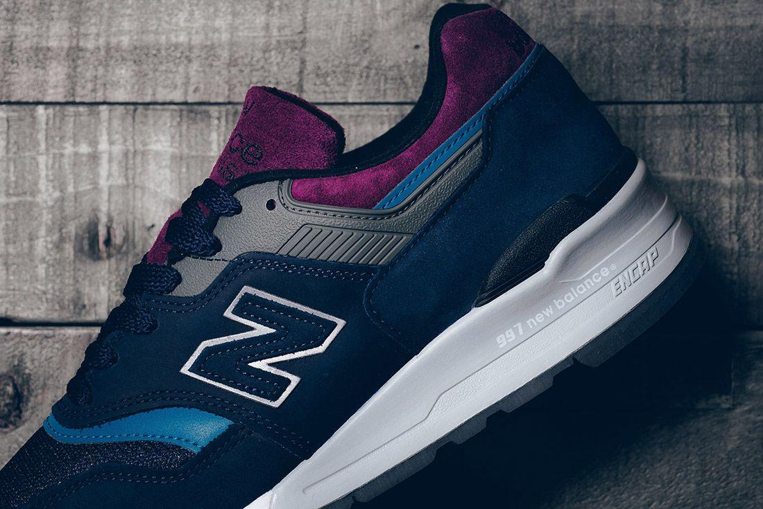 New Balance 997 Ptb Navy Grey 7