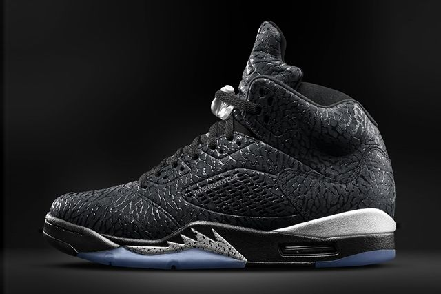Air Jordan 3Lab5 Black Metallic 1