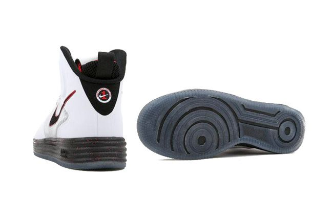 Nike Lunar Force 1 High University Red Pair 1