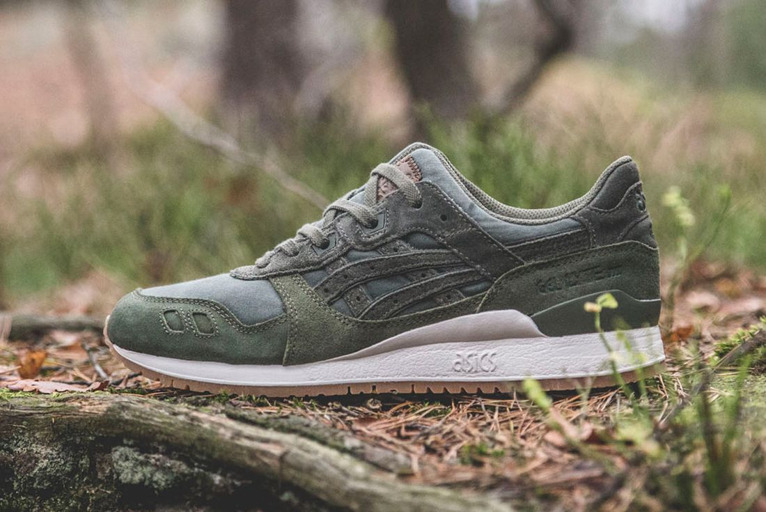 Sneakersnstuff X Asics Forest Pack14