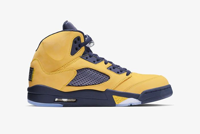 Air Jordan 5 Michigan Right