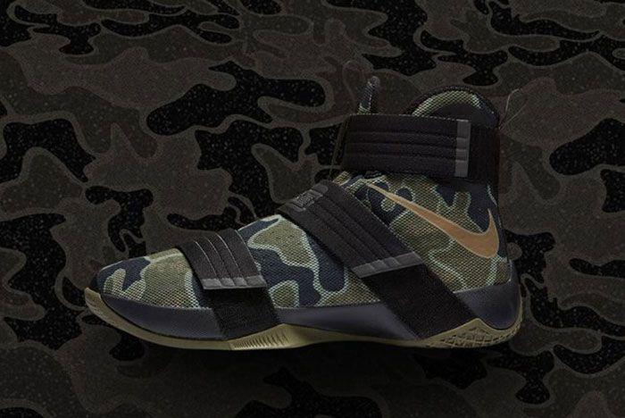Nike Recap Lebron Soldier 10 Camo