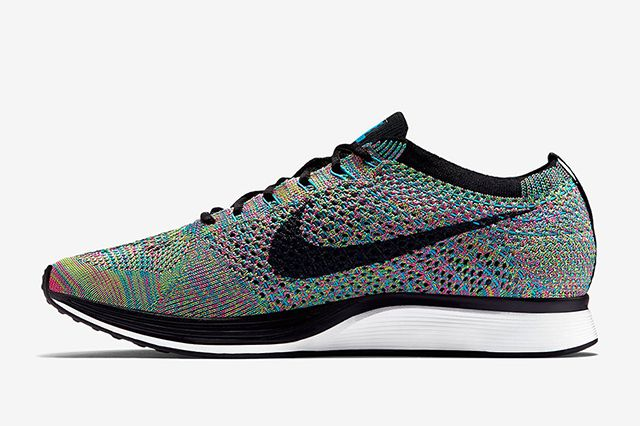 Nike Flyknit Racer Multi Colour5