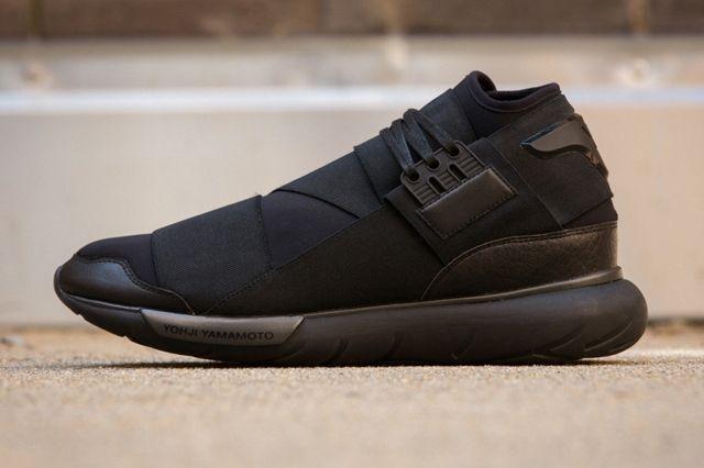 Adidas Y 3 Qasa High All Black 1
