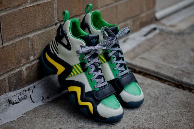 Adidas Opening Ceremony Crazy 8 Tennis Grey Midfoot Aerial 1