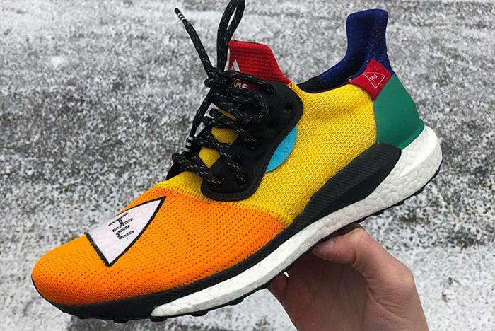 Adidas Pharrell Williams Hu Solar Glide 3