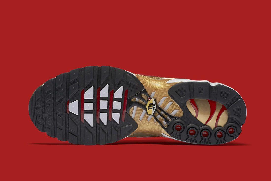 Air Max Plus Metallic Gold 2