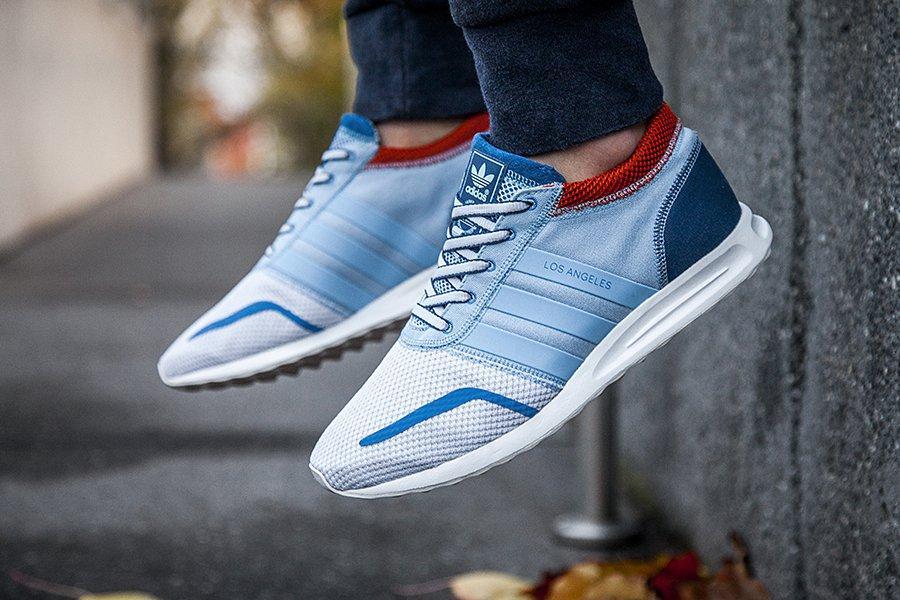 Adidas La Blue Orange Mens 4