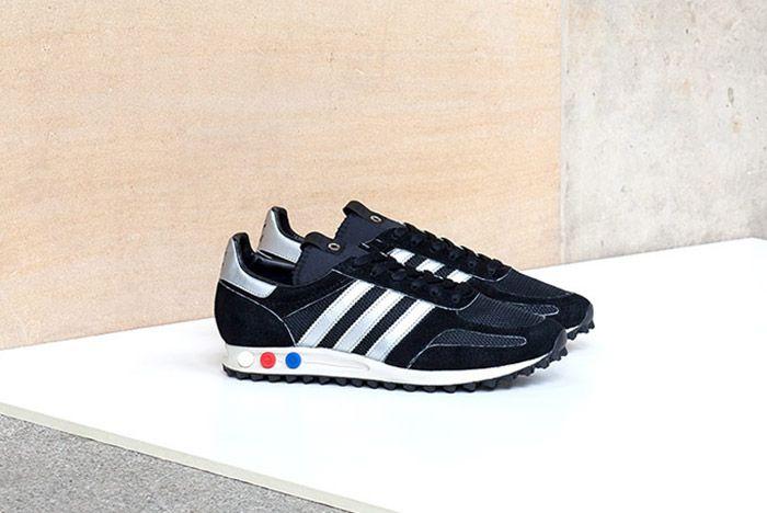 Adidas Consortium La Trainer Og Navy Silver 2