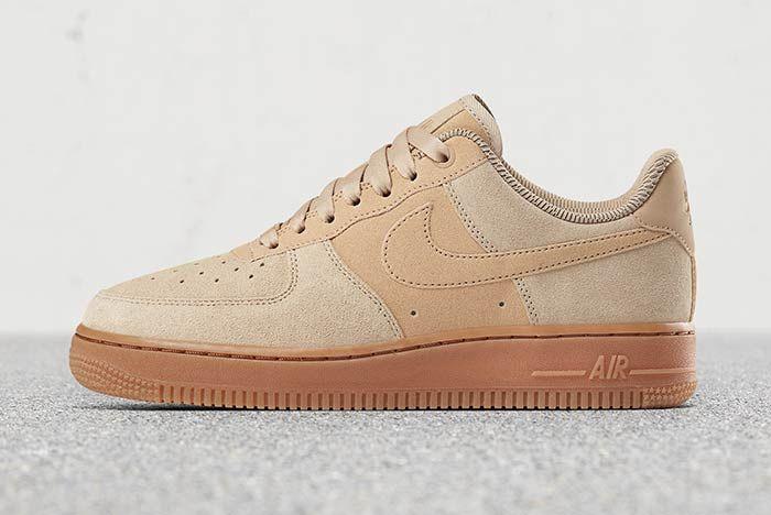 Naked Model Nikes Air Force 1 Low Suedes Sneaker Freaker