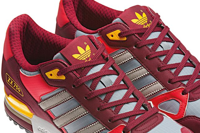Adidas Zx750 Red Details 1