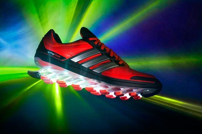 Adidas Springblade Red Black Profile 1