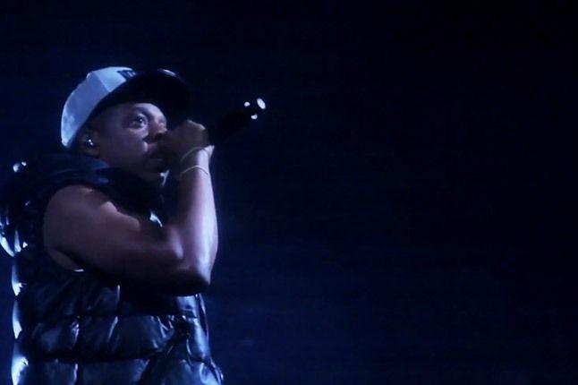 Jay Z Barclays Arena Mic 1