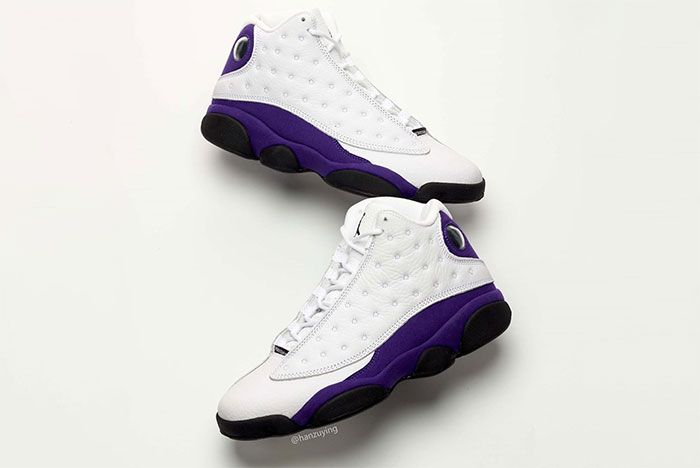 Air Jordan 13 Lakers Pair