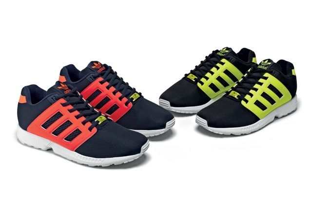 Adidas Originals Zx Flux 2 0 Tonal Neon 12