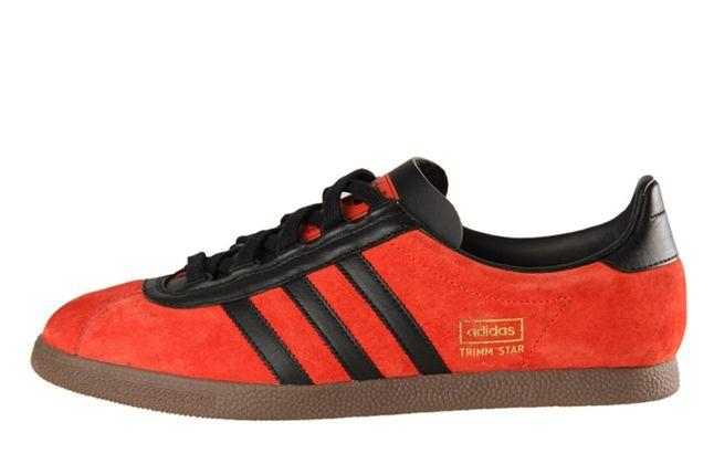 Adidas Trimm Star Red Profile 1