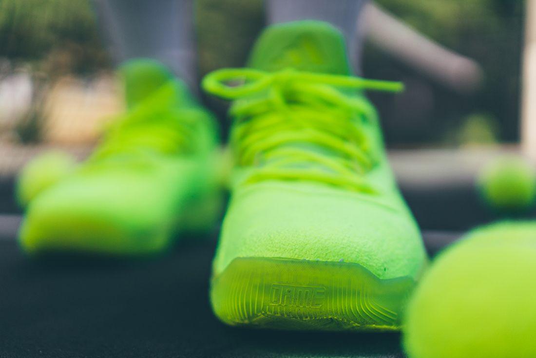 Adidas D Lillard 2 Tennis Ball3