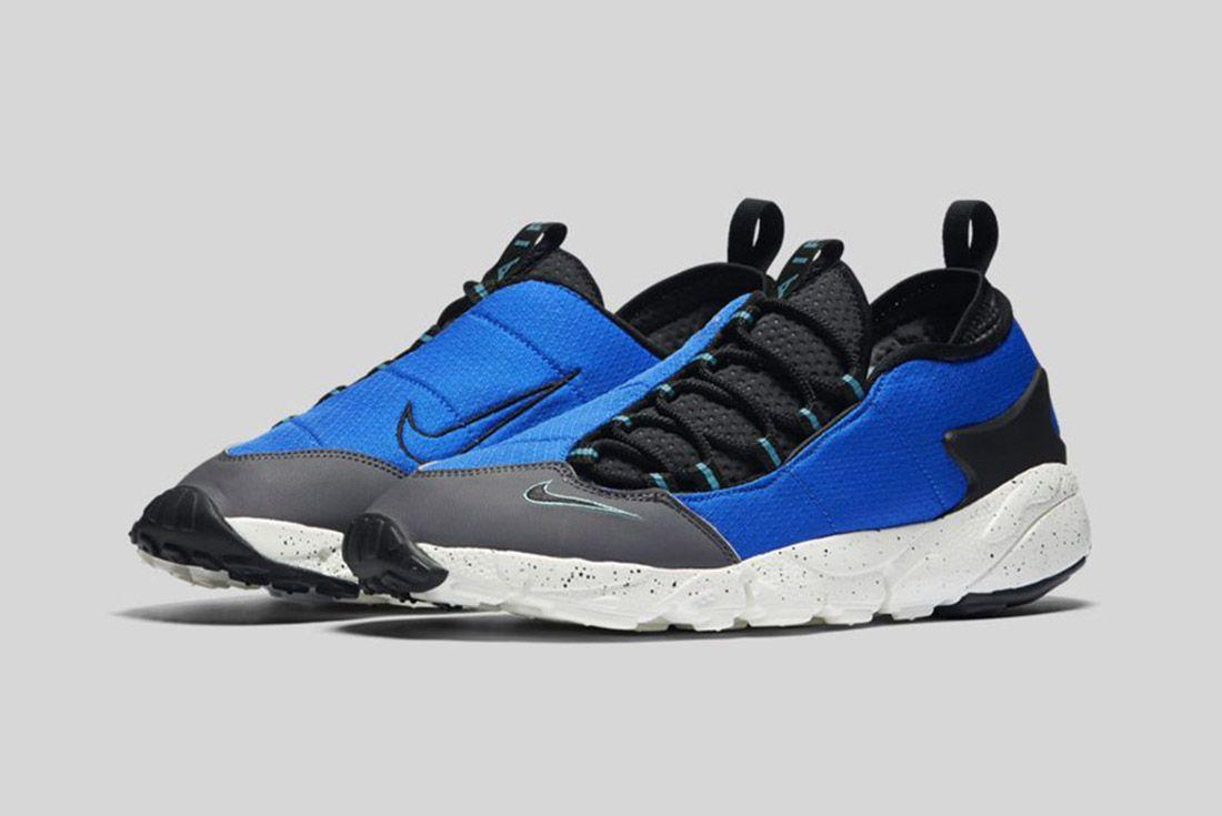 Nike Air Footscape Nm Black Blue 2
