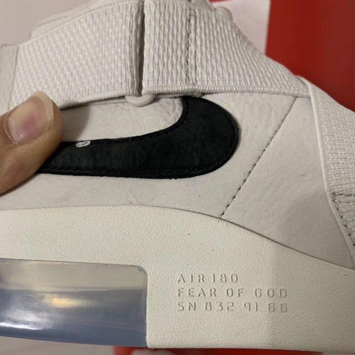 Nike Air Fear Of God 180 Light Bone 7