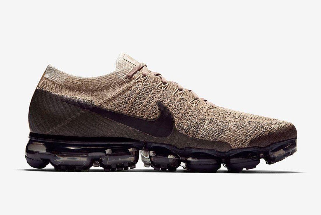 Nike Air Vapormax Tan Brown Black 4