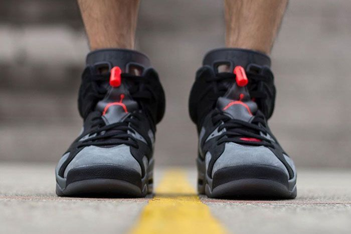 Psg X Air Jordan 6 On Foot 3