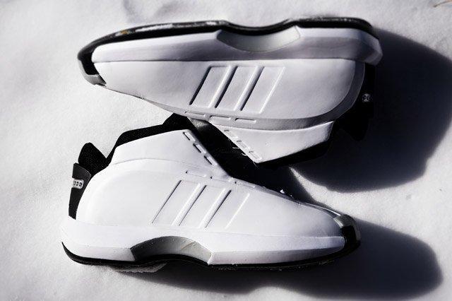 Adidas Crazy 1 White Topview