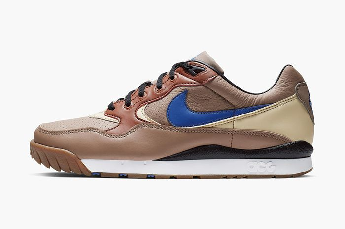 Nike Acg Air Wildwood Premium Brown Release Date Lateral