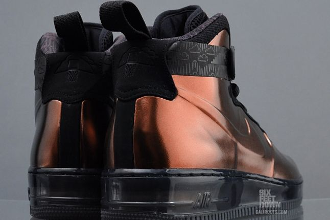 Nike Foamposite Black History Month Heels 1