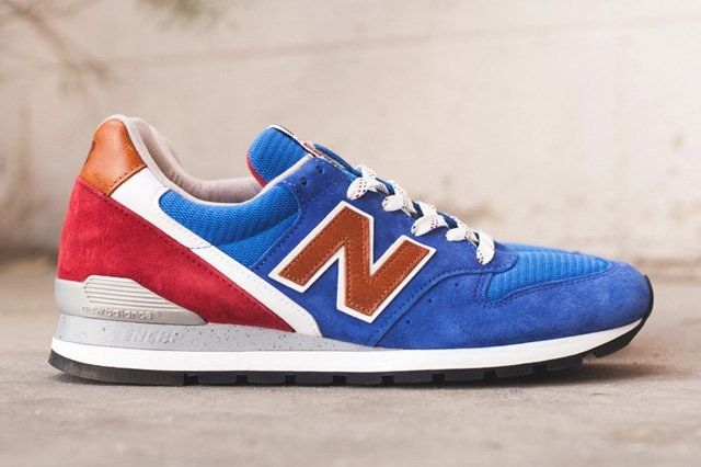 New Balance 996 Brown Blue Thumb