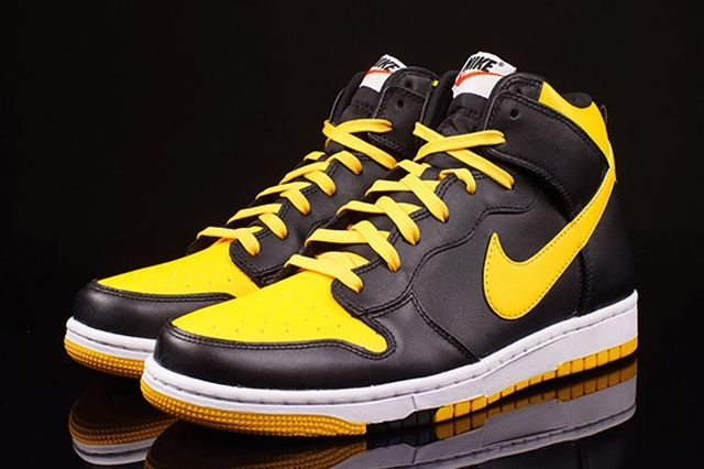 Nike Dunk High Cmft University Gold 1