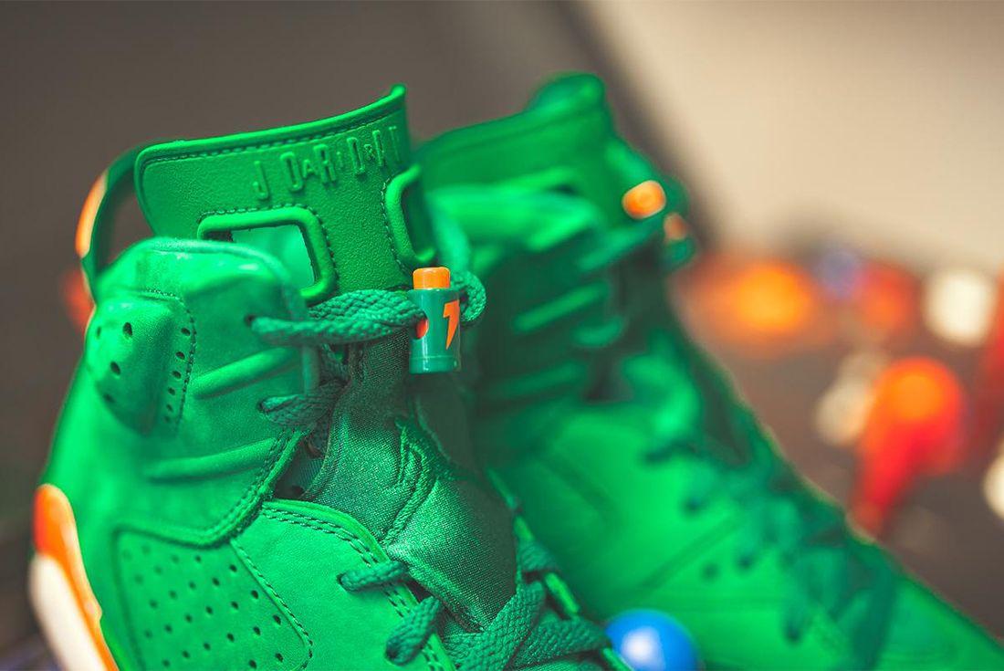 Gatorade X Air Jordan 6 Pine Green Release Date Sneaker Freaker 8
