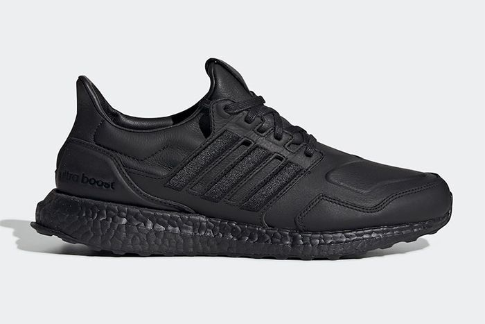 Adidas Ultraboost Leather Black Ef0901 Release Date Lateral