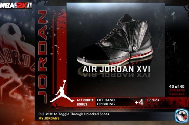 Jordan Nba 2K11 Xvi 1