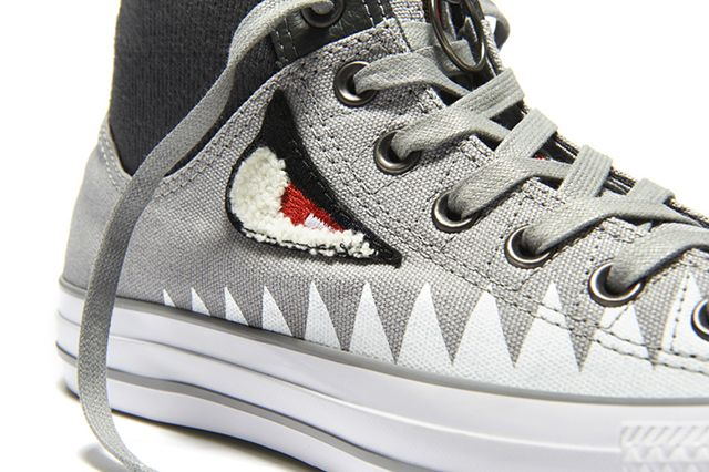 Converse Chuck Taylor Ma 1 Zip Shark Pack 7