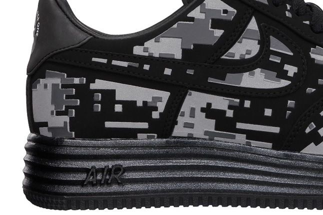 Nike Lunar Force 1 Digi Camo Heel 1