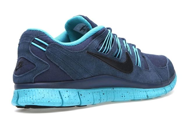 Nike Free 5 0 Ext Blue Heel 1