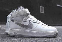 Nike Af1 Hi Summit White Metallic Silver Thumb