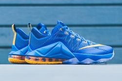 Nike Lebron 12 Low Photo Blue Uni Gold Thumb